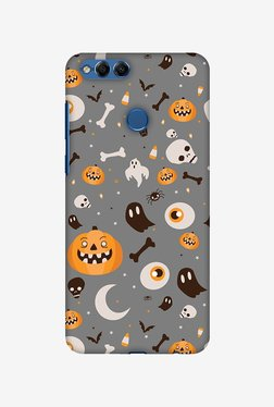 Amzer Freaky Grey Halloween Designer Case For Honor 7X