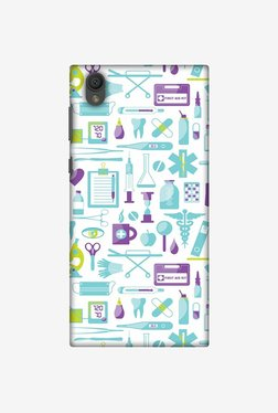 Amzer Doctor Pattern 1 Designer Case For Sony Xperia L1