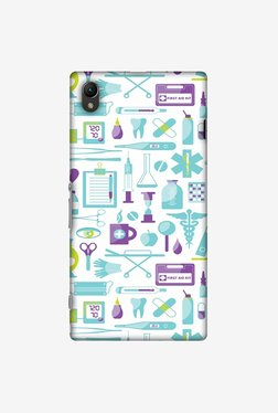 Amzer Doctor Pattern 1 Designer Case For Sony Xperia Z1
