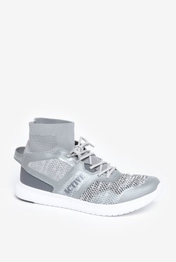 SOLEPLAY By Westside Grey Knit Sneakers