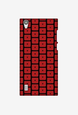 Amzer Small Hearts Pattern Designer Case For Vivo Y15/Y15S