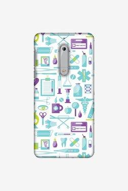 Amzer Doctor Pattern 1 Designer Case For Nokia 5
