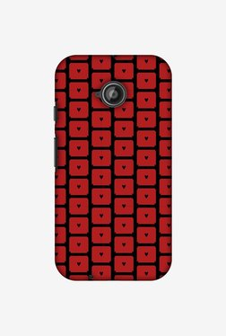 Amzer Small Hearts Pattern Designer Case For Moto E2