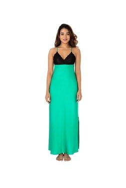 PrettySecrets Green Lace Nightdress