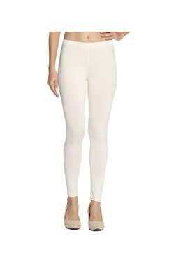 Soch Off White Regular Fit Cotton Lycra Churidar