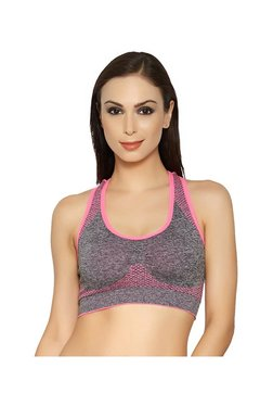 Blush By PrettySecrets Pink Racerback Sports Bra