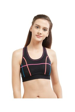 Blush By PrettySecrets Black Cross Back Sports Bra - Mp000000002489034