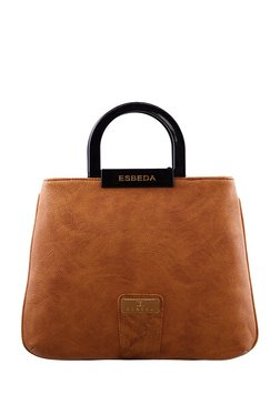 Esbeda Camel Brown Distressed Handbag