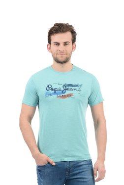 Pepe Jeans Light Blue Slim Fit T-Shirt