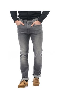 Pepe Jeans Light Grey Lightly Washed Regular Fit Jeans