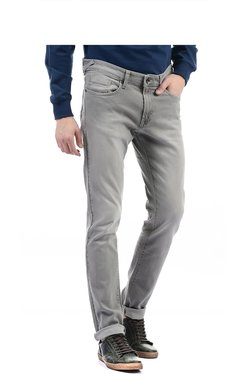 Pepe Jeans Light Grey Lightly Washed Jeans