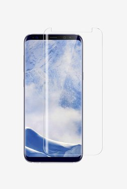 Amzer Full Body Edge To Edge Tempered Glass Screen Protector For Samsung S9