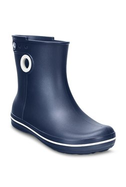 f9f5f36a2 Crocs Jaunt Shorty Navy Blue Boots for women - Get stylish shoes for ...