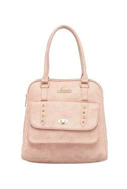 Esbeda Light Pink Distressed Handbag