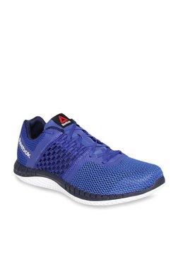 59f362537f45 Reebok Zprint Blue Running Shoes
