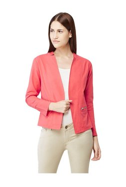 AND Coral Open Front Jacket