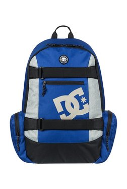 f95ea166ce37 DC The Breed Royal Blue   Light Grey Solid Polyester Backpack
