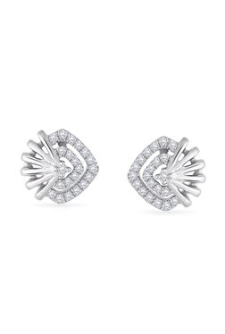 4d509fcb5 Malabar Gold and Diamonds 950 Platinum & 0.209 ct Diamond Earrings