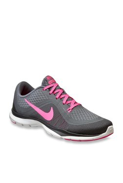 a256f1cdf376 Nike Free Tr 6 Grey Training Shoes for women - Get stylish shoes for ...