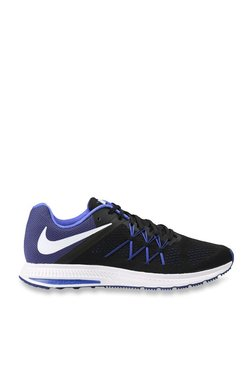 Nike Zoom Winflo 3 Black & Blue Running Shoes