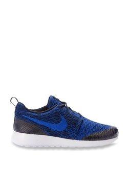 reputable site c4dcc 634b9 TATACLIQ. Nike Roshe One Flyknit Blue Running Shoes