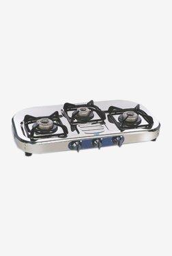 Glen LPG Stove GL 1037 SSAL 3 Burner Gas Cooktop (Steel)