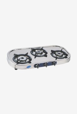 Glen LPG Stove 1033 SS HFDTAL 3 Burner Gas Cooktop (Steel)