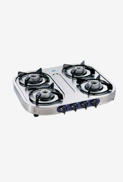 Glen LPG Stove 1044 SSAL 4 Burner Gas Cooktop (Steel)