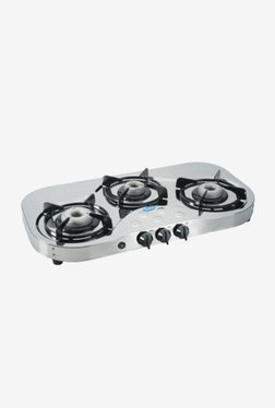 Glen LPG Stove 1035 SSHF AI 3 Burner Gas Cooktop (Steel)