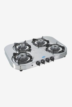 Glen LPG Stove 1045 SSHF AI 4 Burner Gas Cooktop (Steel)