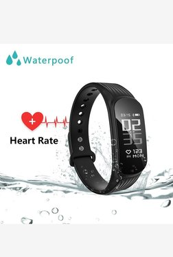 WEARFIT WP112 Smart Bracelet Sport Fitness Tracker (Black)