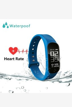 WEARFIT WP112 Smart Bracelet Sport Fitness Tracker (Blue)