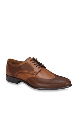 Ruosh Brit Tan Derby Shoes