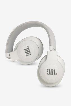 JBL E55BT Over the Ear Bluetooth Headphones (White)