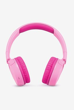 JBL JR300BT Kids On the Ear Bluetooth Headphones (Pink)