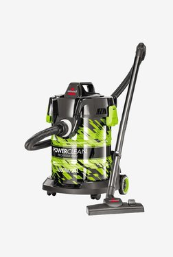 Bissell Premium Power Clean Professional 2026E 1500 W Canister Vacuum Cleaner (Black/Green)