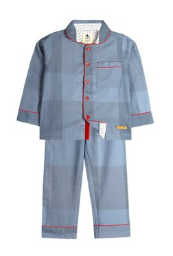 16211f22f8ad Cherry Crumble California Kids Light Blue Pyjama Set