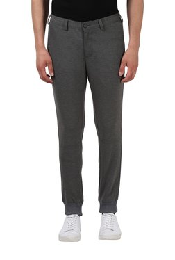 Colorplus Dark Grey Mid Rise Jogger Pants