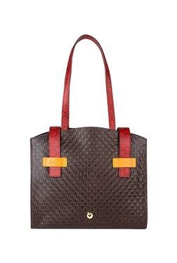 Holii Ursa 01 Dark Brown Textured Leather Shoulder Bag