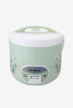 Havells Max Cook DLX 2.8 L Electric Rice Cooker (Light Green)