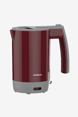 Havells Travel Lite 0.5 L Electric Kettle (Maroon)