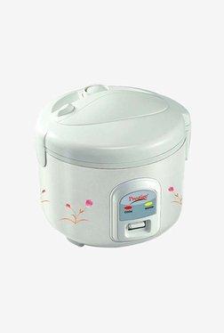 Prestige PRWCS 1 L Delight Electric Rice Cooker (White)