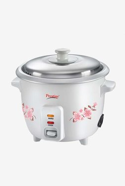 Prestige PRWO 0.5 L Delight Electric Rice Cooker (White)