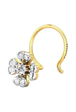 09d0a59994c69 Buy Candere by Kalyan Jewellers Nosering & Nosepin - Upto 30% Off ...