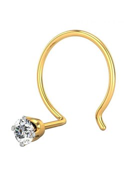 Buy Candere by Kalyan Jewellers Nosering & Nosepin - Upto 30