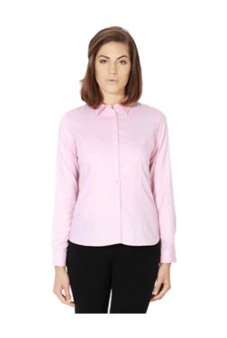 Van Heusen Pink Striped Shirt