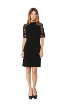 Van Heusen Black Regular Fit Knee Length Dress - Mp000000002596737