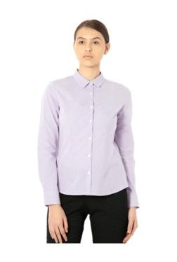 Van Heusen Lilac Striped Shirt