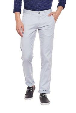 Killer Light Grey Slim Fit Trousers