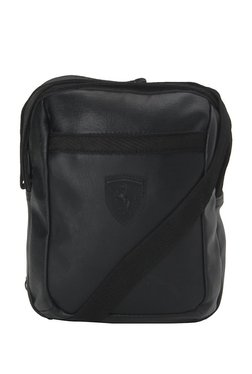 64ae1d625b49 Puma SF LS Black Solid PU Sling Bag